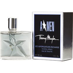 Angel By Thierry Mugler 1 oz Eau De Toilette Spray Refill For Men 1 Oz Mini Cologne