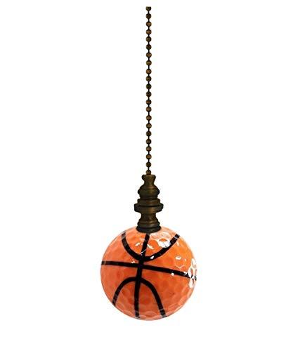 Basketball Lamp Fan Pull, 2.25