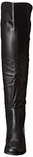 Eiffel High Black Shoes Knee Women's Boot Wanted TqEwv6CUqy