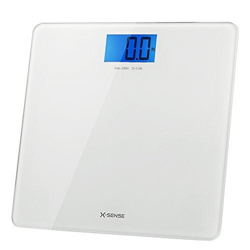 X Sense Precision Digital Body Weight Bathroom Scale With