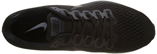 Nike Air Zoom Pegasus 34, Scarpe da Trail Running Uomo Nero (Black/Dark Grey/Anthracite)