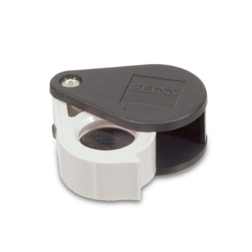 Zeiss Jewelers Professional Aplanatic Achromatic Pocket Loupe 40D-10x by Zeiss