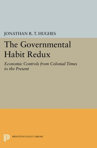 The Governmental Habit Redux – Economic Controls from Colonial Times to the Present