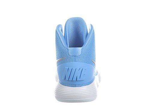 d8006490ce9b Galleon - NIKE Men s React Hyperdunk 2017 University Blue Metallic  Silver White Nylon Running Shoes 9 D US