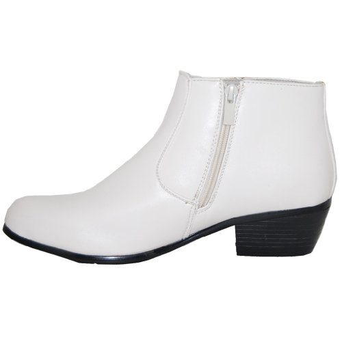 d870f01c499 White Diamonds 2 Inch Cuban Heel Boot, Men