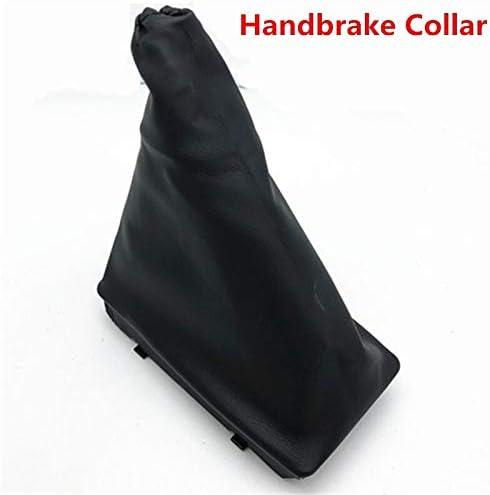 LRFQ ギアシフトノブゲーターレザーブーツカバーケース用カースタイリングアクセサリー (Color Name : Handbrake)