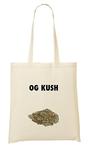 Og Kush Marijuana Strain Bolso De Mano Bolsa De La Compra