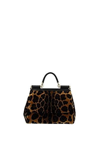 BB6002AL31289651 Dolce&Gabbana Hand Bags Women Velvet Black