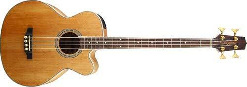 Takamine G Series GB72CE-NAT Jumbo Acoustic Electric Bass Guitar, Natural ()