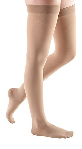 mediven comfort 30-40 mmHg Thigh High Compression Stockings Closed Toe [並行輸入品] B07QS44QDR
