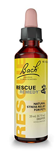 RESCUE REMEDY PET Dropper, 20mL - Natural Homeopathic Stress Relief Drops for Pets
