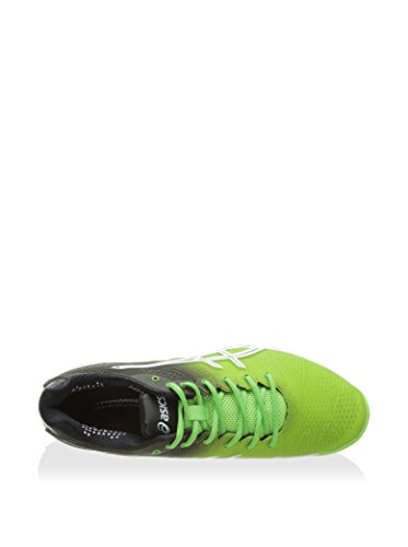 ASICS GEL SOLUTION SPEED 2 FLASH - GREEN/WHITE/BLACK - 40.5 EU