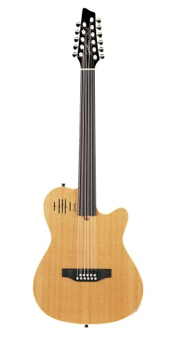 Godin A11 Glissentar Two-Chambered Electro-Acoustic Guitar (Natural, Fretless)
