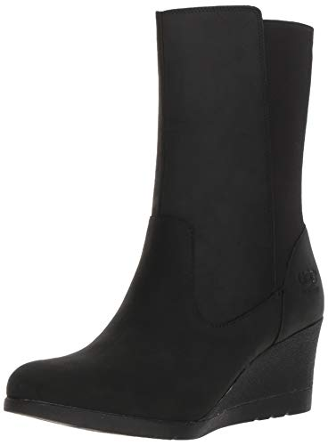 UGG Women's W Coraline Boot Fashion, Black, 6 M US