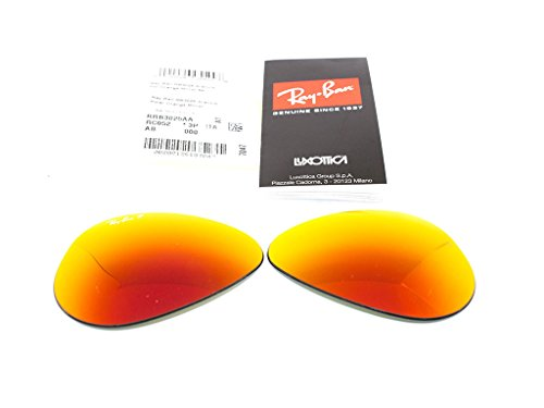 Miroir 3025 Lentilles Orange drop Metal de Polarisé Ban rechange Aviator Ray large ORIGINALES wUTHg4qA