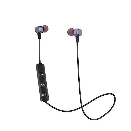 (Bluetooth Headset,ZTY66 Wireless Bluetooth Headset Sport Stereo Headphone Earphone for Smartphone (Gray))