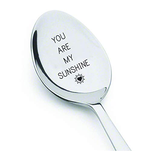 - You Are My Sunshine- Best Selling Item - Gift for Him - Spoon Gift for Her - Lovers Gift # A2