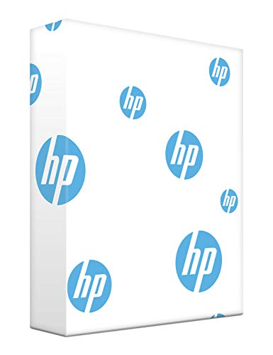 HP Printer Paper, Office20 Paper, 8.5 x 11 Paper, Letter Size, 3 Hole Punch, 20lb Paper, 92 Bright, 1 Ream / 500 Sheets (113102R) Acid Free Paper