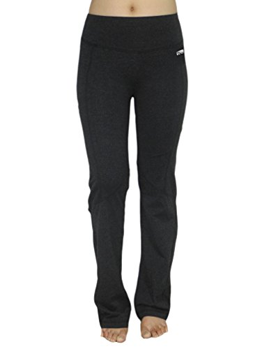 bally-total-fitness-womens-casual-wear-lounge-pants-yoga-pants-small-black