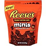 Reese's Peanut Butter Cups Minis, 8-ounce Pouch