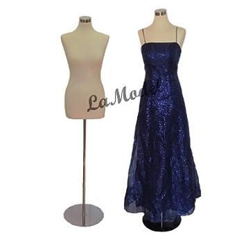 Amazon.com: Female Half Body Dress Form Mannequin: Arts, Crafts ...