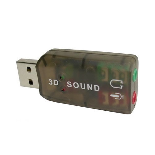 4 opinioni per USB 2.0 External 3D 5.1 Channel External Sound Card Adapter PC / Laptop Audio