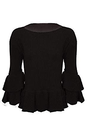 Clothing, Shoes & Accessories Sweaters Womens Ladies Knitted