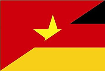 U24 Aufkleber Vietnam Deutschland Flagge Fahne 15 X 10 Cm Autoaufkleber Sticker Auto