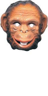 Rubie's 3282 Animal Mask-Monkey Costume, One Size, -