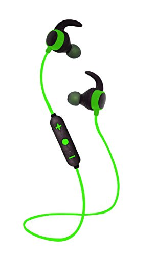 GAGA Bluetooth Wireless Headphones,In-Ear Earbuds Sports Headphones Stereo Noise Cancelling For Gym Running Workout Headsets Green