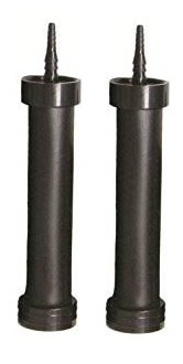 "Set of 2 EasyPro RAD6 EPDM Rubber Membrane Air Diffuser 6"" Long 1/4"" - 3/8"" Barb"