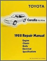 corolla fx 16 1987 manual service
