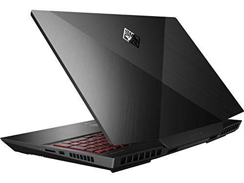 "HP OMEN 17t-cb100 Gaming Laptop (Intel i7-10750H 6-Core, 8GB RAM, 256GB SSD + 1TB HDD, NVIDIA RTX 2060, 17.3"" Full HD (1920x1080), WiFi, Bluetooth, Webcam, Win 10 Home)"