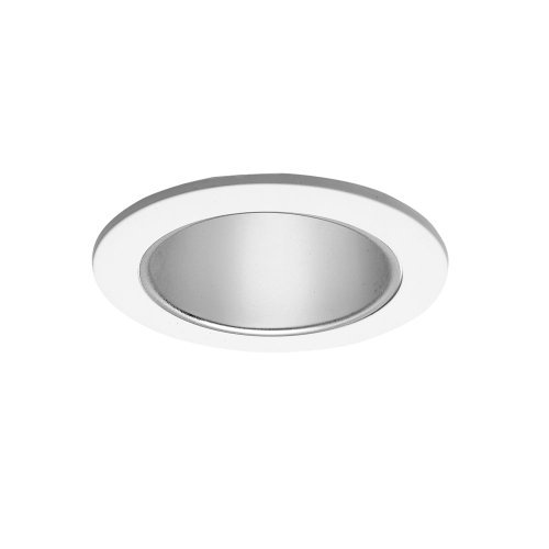 (Halo 999P, 4 Trim Reflector Cone White Trim with Specular Clear Reflector by Cooper Lighting)