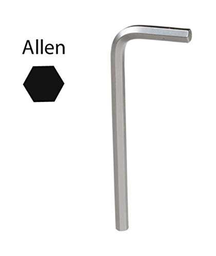 cromo vanadio profesional Maurer 2105080 Llave Allen 8,0 mm