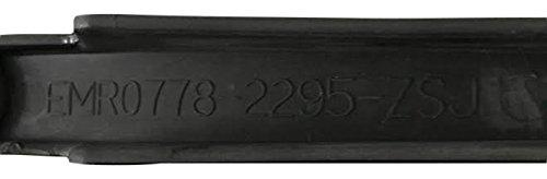 Viscera Wheels EMR0778-2295-ZSJ Black Wheel Inserts Set of 6 22 Inch Wheel