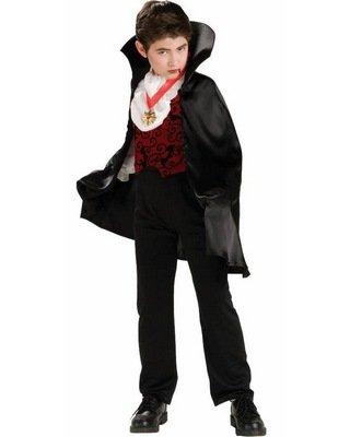 Transylvanian Vampire Costume (Transylvanian Vampire Costume With Short Cape Costume)