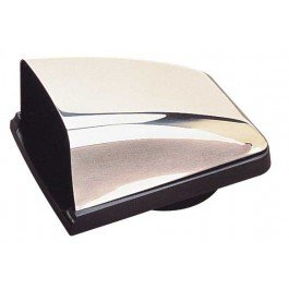 Sea Dog Line 3313201 Stainless Steel Cowl Vent with Black Plastic Base