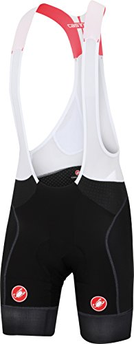 Short Bib Free Cycling (Castelli Free Aero Race Bib Short - Men's Black/Black, M)