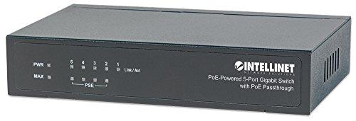 Intellinet 561082 5 Port Gigabit PoE Switch by Intellinet