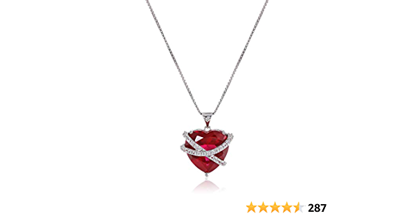 July birthstone birthday gift for her \u2014 choose your favourite Raw ruby necklace rustic ruby raw stone pendant with Sterling silver