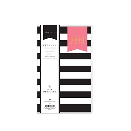 Day Designer for Blue Sky 2019-2020 Two Year Monthly Planner, Flexible Cover, Stapled, 5.5