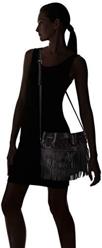 Shopper Borsa A Nero Spalla Ikks The noir Donna qAg6z8pn