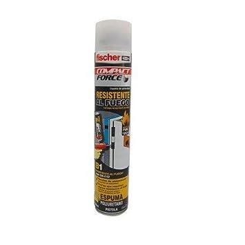 FISCHER 097968 - Espuma de poliuretano B1 resistente al fuego para pistola: Amazon.es: Bricolaje y herramientas
