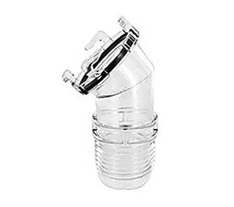 Other In-Car Technology Valterra 45Deg Hose Adaptor Clear T1026 Parts & Accessories
