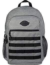 Dickies Campbell Backpack, Charcoal Heather, One Size