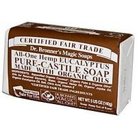 Eucalyptus Bar (Dr Bronners Magic Soap All One Obeu05 5 Oz Eucalyptus Dr. Bronner'S Bar Soap)