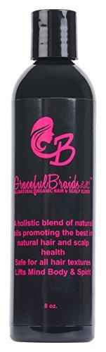 Graceful Braids All Natural and Organic Hair Elixir 8 oz.