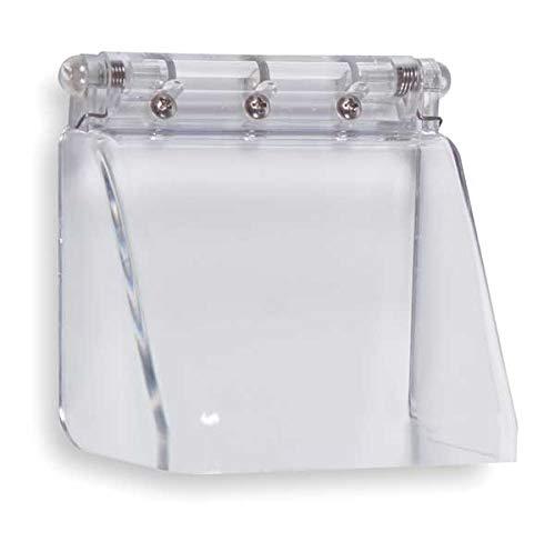 Keypad Cover, Polycarbonate, Flush