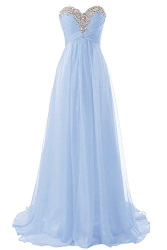 Robes De Demoiselle D'honneur Robe De Bal Longue Soirée Formelle En Mousseline De Soie Robe Lavande Ligne
